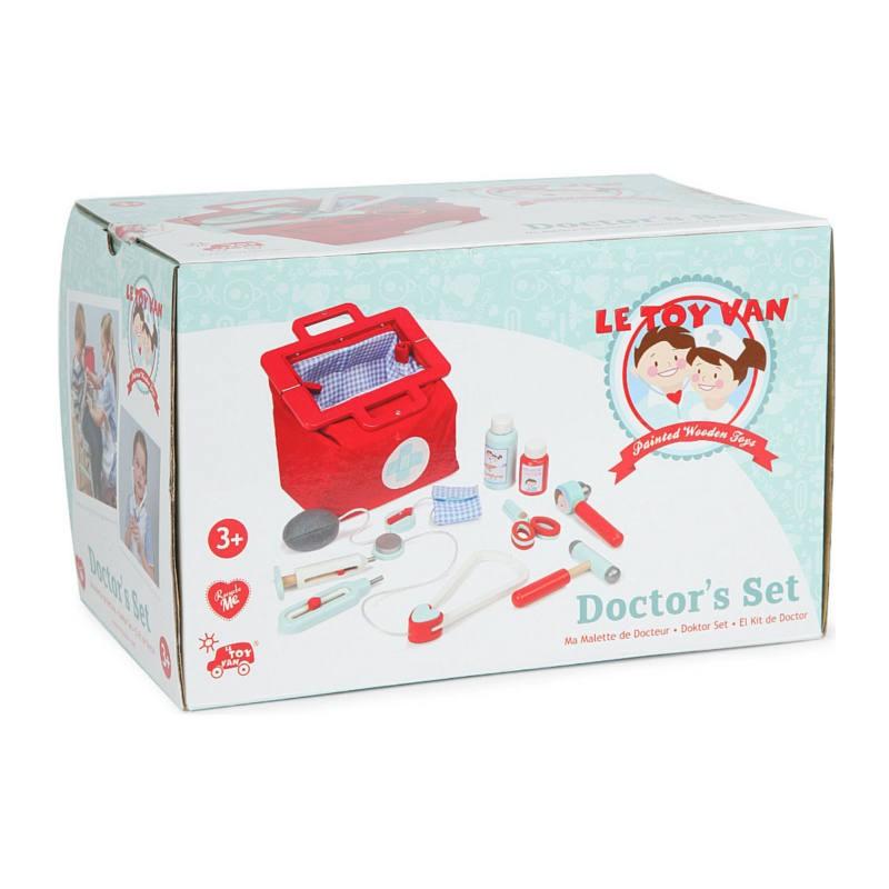 Puidust arstikomplekt Le Toy Van