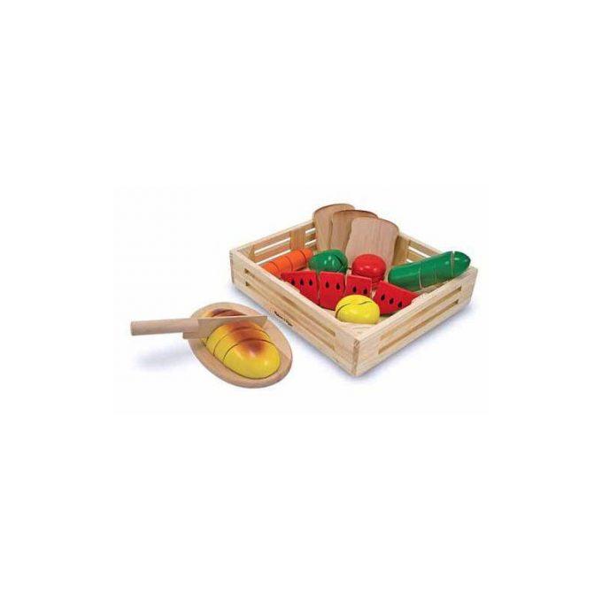 Lõigatavad toidud kastis