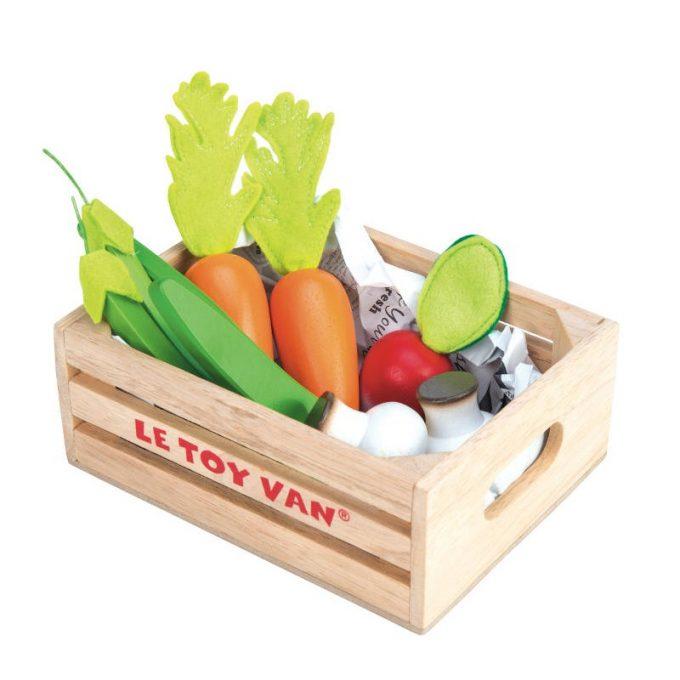 Toiduained kastis- köögiviljad