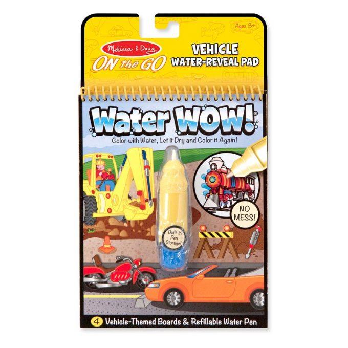 Veepliiatsiga värviraamat - Sõidukid