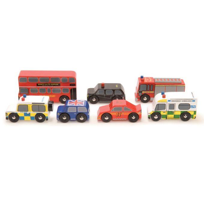 Autode komplekt London - Le Toy Van