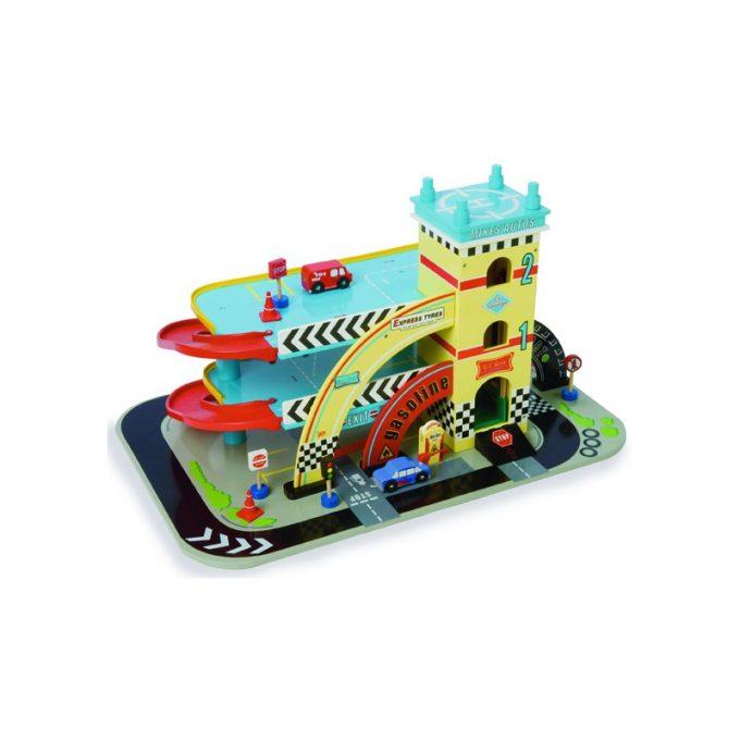 Suur autogaraaž Mike's Le Toy Van