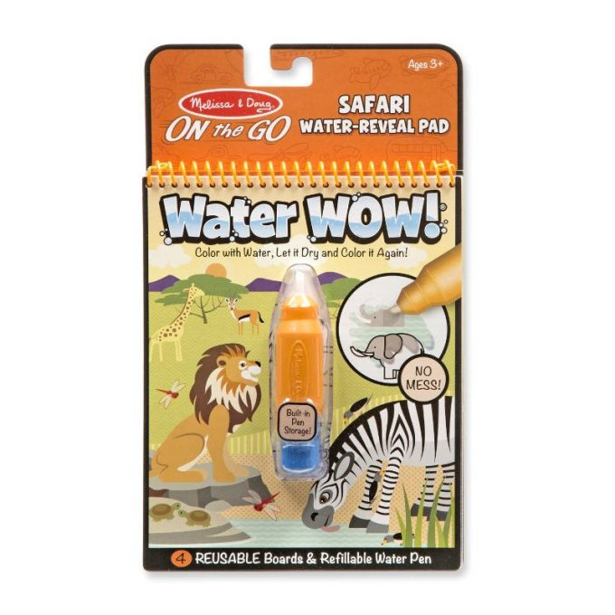 Veepliiatsiga värviraamat - Safari