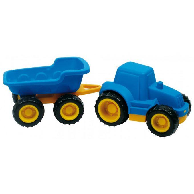 Traktor treileriga