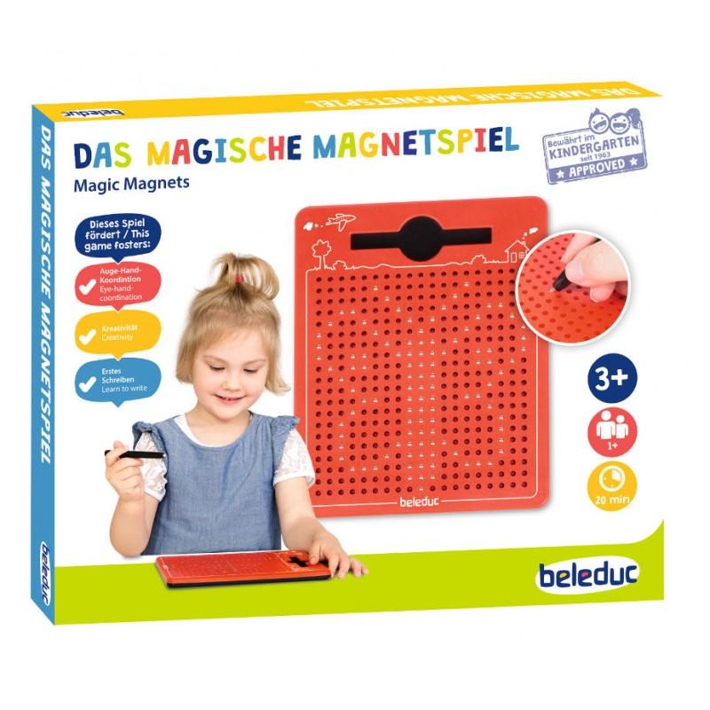 Magnetiline joonistamistahvel (punane) - Beleduc