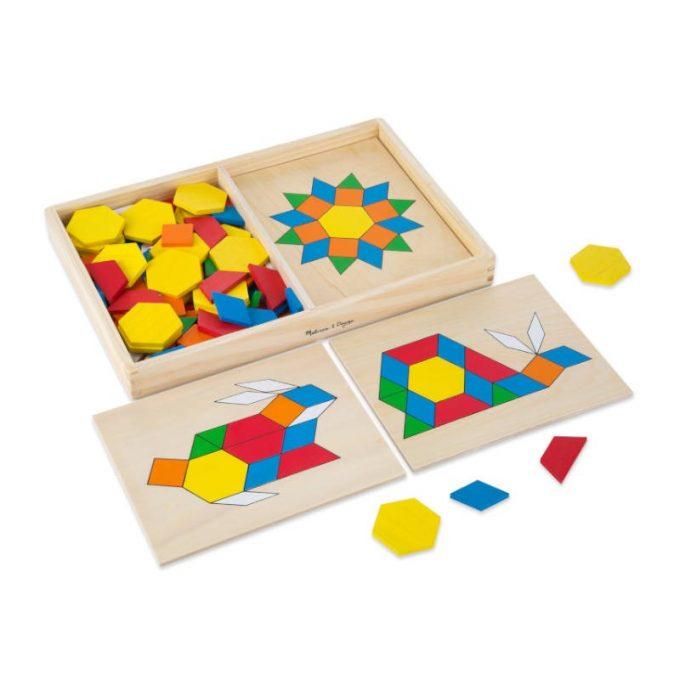 Puslemäng geomeetriliste kujunditega