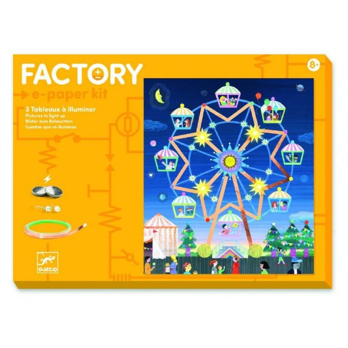 """Factory LED kunst """"Kõrgel taevas"""""""