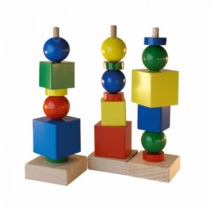 """Geomeetriamäng """"Kujundite torn"""""""