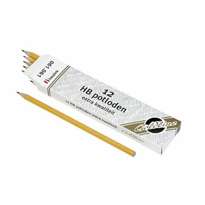 Kuusnurkne harilik pliiats HB (12 tk)
